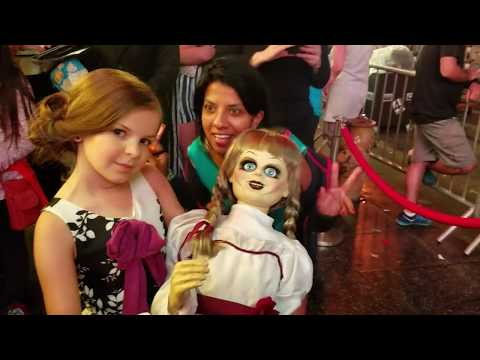 Annabelle Creation Hollywood Movie Premiere with actress Samara Lee 02