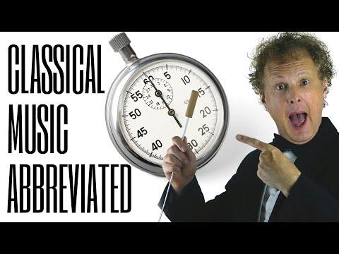 Funny  Classical Music ABBREVIATED  Rainer Hersch