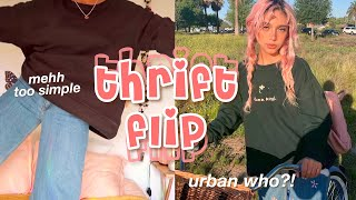 THRIFT FLIP | diy urban outfitters *cute & easy!!*