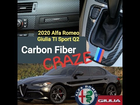 The Carbon Fiber Craze! A world of 'made in China' plastic must haves.