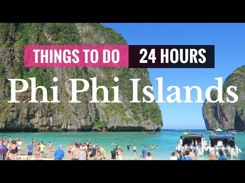 THINGS TO DO IN KO PHI PHI ISLANDS BY SPEEDBOAT | 24 HOURS