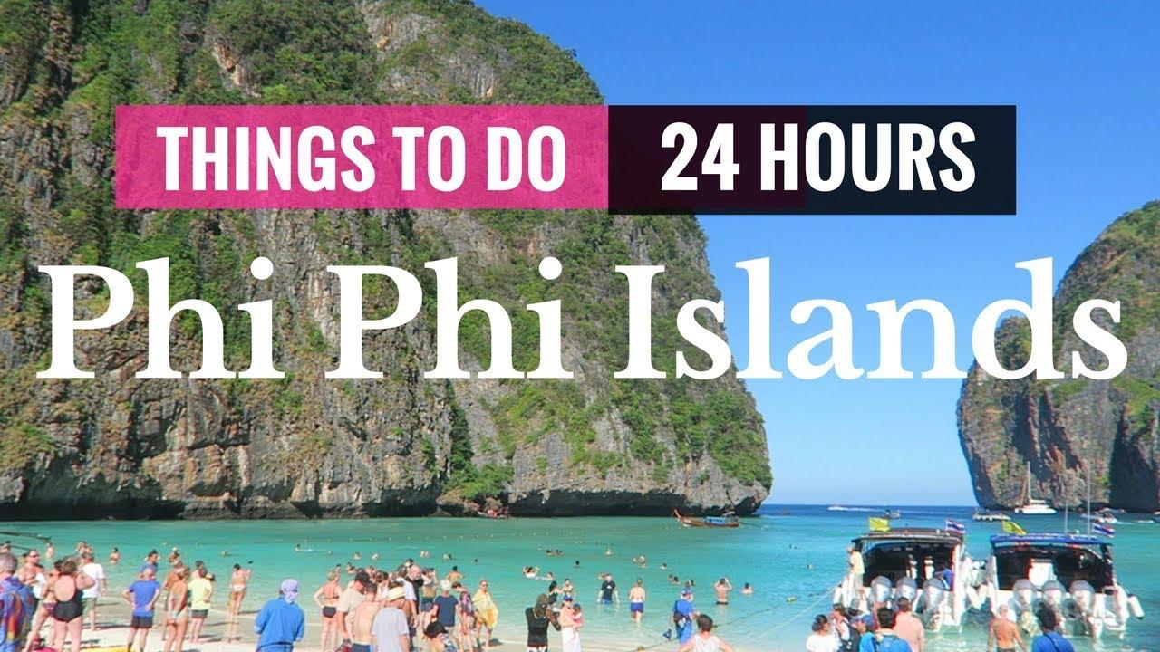 THINGS TO DO IN KO PHI PHI ISLANDS BY SPEEDBOAT | 24 HOURS ...