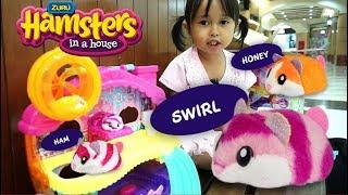 Mainan Anak Lucu Rumah Rumahan Hamster 💖 Zuru Hamsters in a House 💖 Let's Play Jessica Jenica