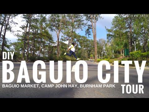 Baguio City Tour - Market, Camp John Hay, and Burnham Park - G Vlogs #15