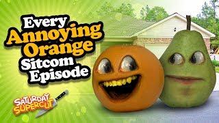 Every Annoying Orange Sitcom Episode (Supercut)