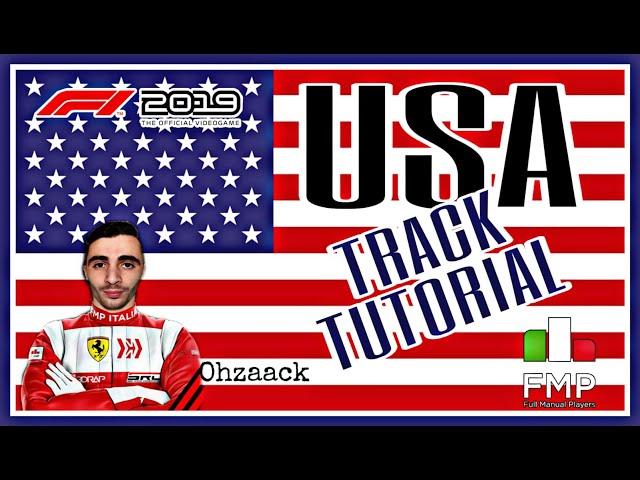 FMP ITALIA | F1 2019 | USA Tutorial | Zaack