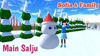 MAIN SALJU | SOFIA & FAMILY | SAKURA SCHOOL SIMULATOR