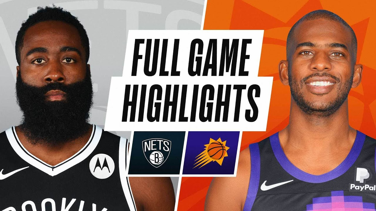 NETS at SUNS | FULL GAME HIGHLIGHTS | February 16, 2021