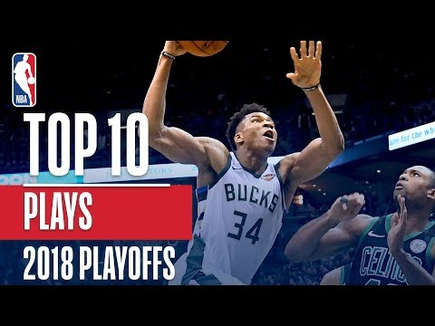 Top 10 Plays From The '17-'18 NBA Playoffs