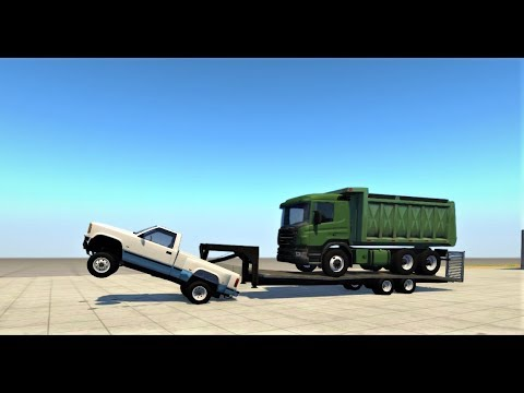 Insane overload!!!-BeamNG drive