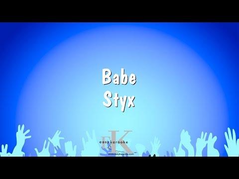 Babe - Styx (Karaoke Version)