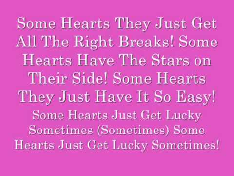 Carrie Underwood- Some Hearts (Lyrics)