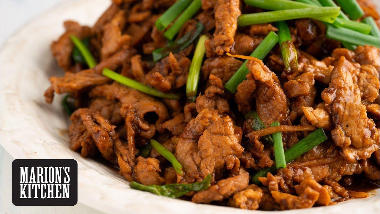 Chinese Pork & Ginger Stir-fry