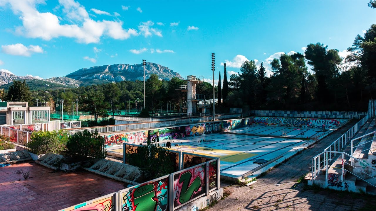 urbex marseille piscine abandonn e youtube