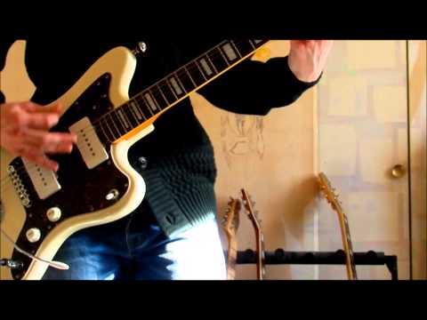 Fender Jazzmaster JM66B Seymour Duncan SJM 2 & SJM 3 demo #1