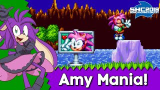 Amy Rose Comes to Mania - Amy Mania - Sonic Hacking Contest 2019 Mods
