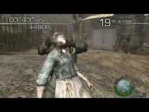 Resident Evil 4 (PC) Mercenaries - Hunk 71 Combo 140650 ...