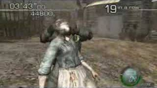 Resident Evil 4 (PC) Mercenaries - Hunk 71 Combo 140650