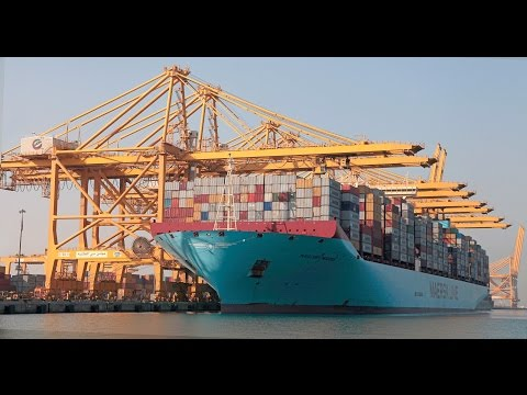 World Biggest & Busiest Port (JAFZA DUBAI)