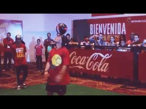 Soccer Player's Exhibition of Tricks in Panama