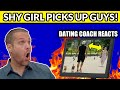 "Dating Coach Reacts To ""Shy Girl Picking Up Hot Guys"""