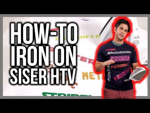 How To Properly Iron-On Siser Heat Transfer Vinyl