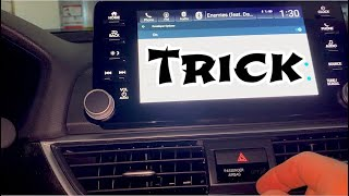 Quick trick customize stereo imid screen on 2018-2021 Honda Accord & Civic