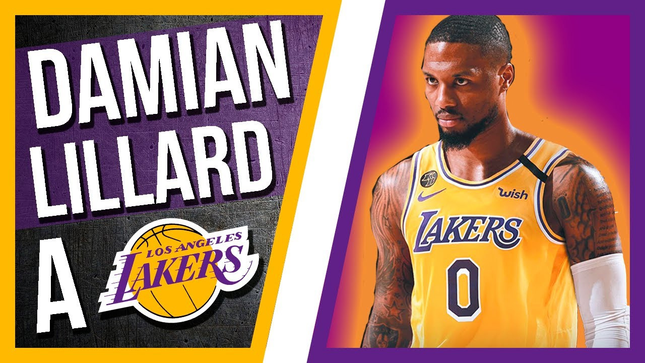 🔥 DAMIAN LILLARD a LOS ANGELES LAKERS 📰 NOTICIAS NBA