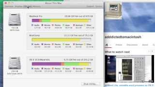 How to View a Macs Disk Usage & Storage Summary in OS X