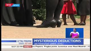 Mysterious deductions by KEWOTA, a female welfare group