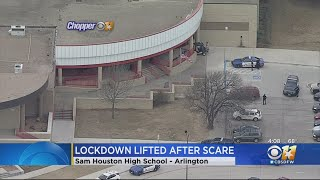 Lockdown At High School In Arlington Lifted After Report Of Possible Weapon