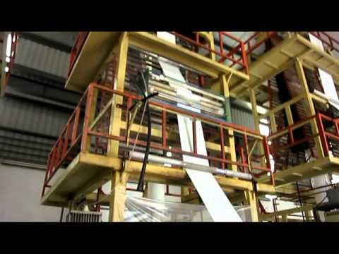 Plastic Bags Extruding Process