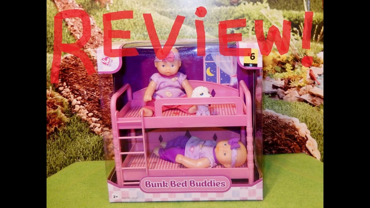 Bunk Bed Buddies Review Fits AG Mini Dolls!