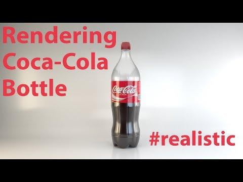Arnold 5 Rendering Tutorial - CocaCola Bottle
