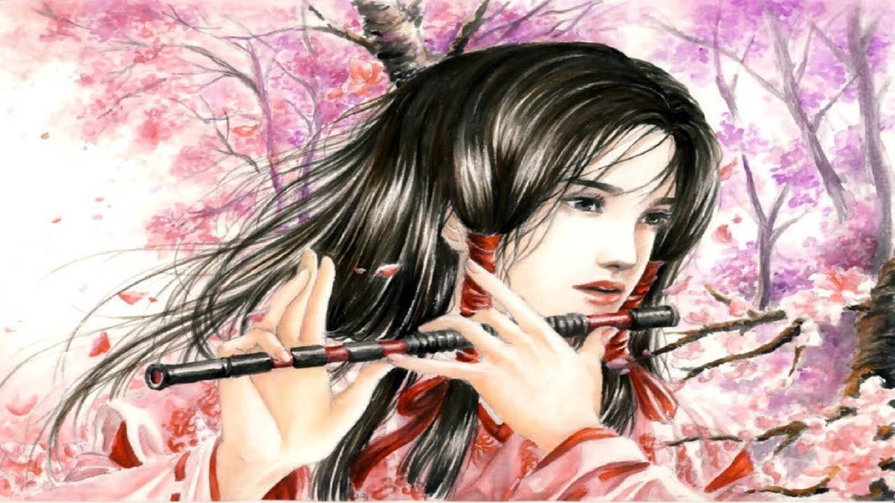 Beautiful Japanese Music - Cherry Blossoms