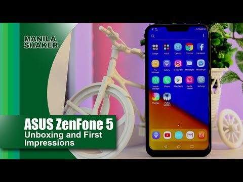 ASUS ZenFone 5 Unboxing and First Impressions