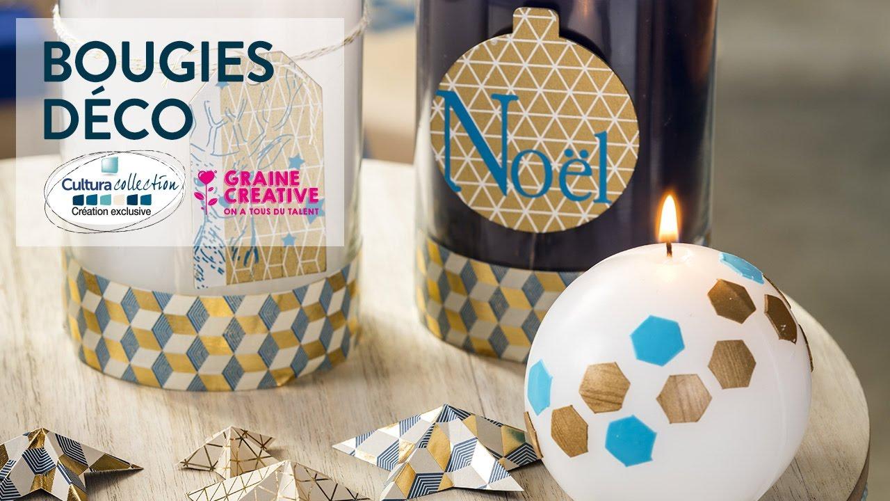 tuto diy bougies de no l d co no l nordic youtube. Black Bedroom Furniture Sets. Home Design Ideas