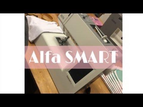 Nueva máquina de coser Alfa SMART - YouTube