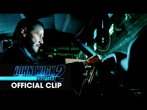 John Wick: Chapter 2 (2017 Movie) Official Clip - 'Car Chase