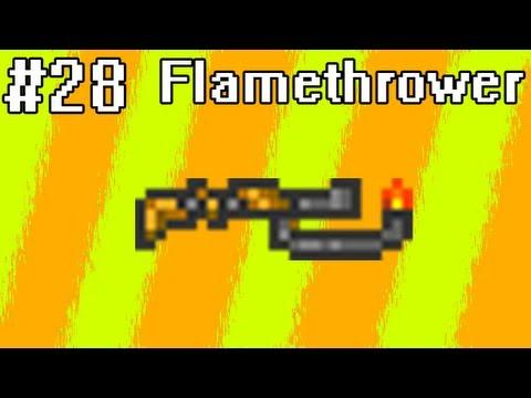 Poradnik Terraria [28] - Flamethrower, czyli miotacz ognia