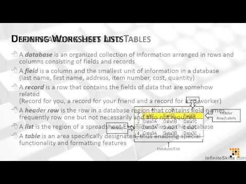 Tables Deep Dive Tutorial | Preparing Data For Tables