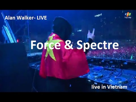 Alan Walker- HIT:Force , Spectre.Live Ravolution Music Festival.8/12/2016,VIETNAM