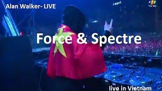 Alan Walker HIT Force Spectre Live Ravolution Music Festival 8 12 2016 VIETNAM