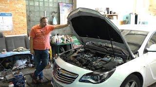 Клин Мотора 2.0CDTI на Свежепригнаном Opel Insignia 2014