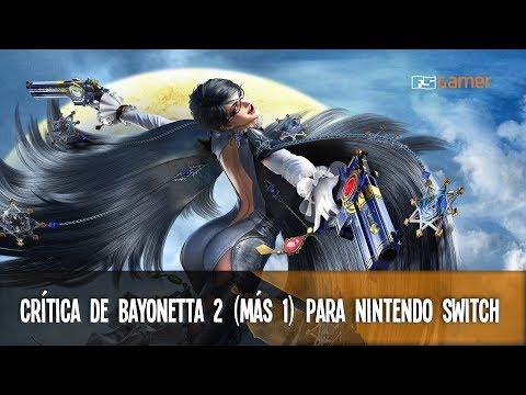 Crítica de Bayonetta 2 (+1) para Nintendo Switch