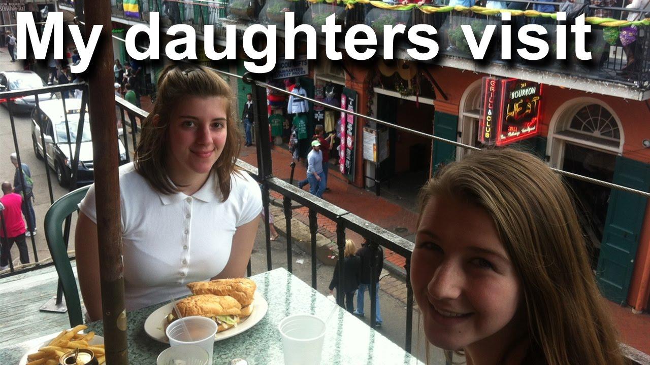 My daughters visit- Travels With Geordie #11