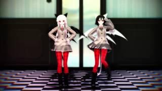 【MMD】ビバハピ - Viva Happy 【Models Test】