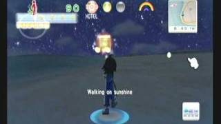 Wii Workouts - Walk It Out - Walking on the Beach at Night