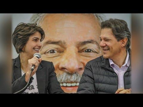 OS PRIMEIROS PASSOS DE LULA, MANUELA E HADDAD