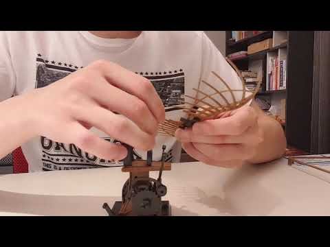 手作科學達文西飛行機器flying mechanism